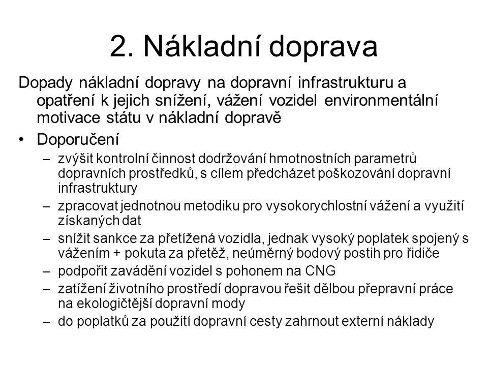 3.Výstavba, údržba a opravy dopravní infrastruktury •prof.