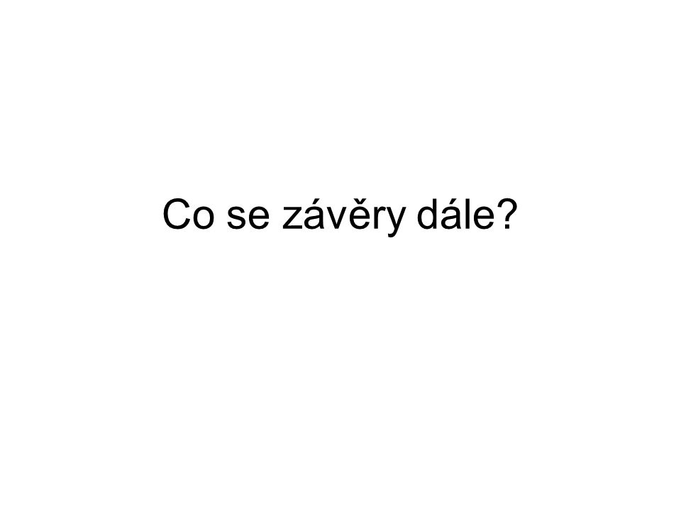Děkuji za pozornost Karel.Pospisil@cdv.cz