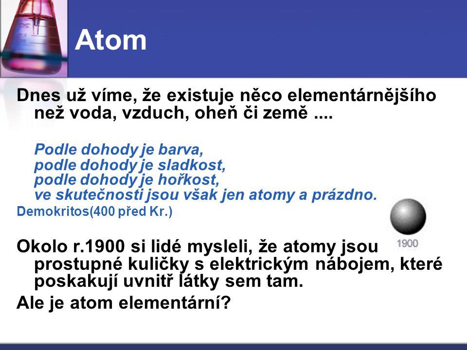 Částice a antičástice Částice antihmoty (či jen antičástice) se chovají a vypadají stejně jako jejich odpovídající hmotné částice, jen mají opačný náboj.
