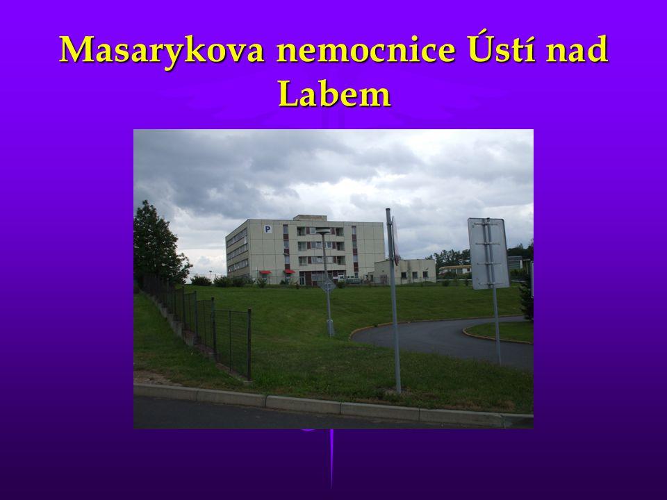 Masarykova nemocnice Ústí nad Labem