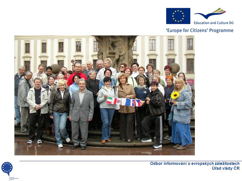 Odbor informování o evropských záležitostech Úřad vlády ČR