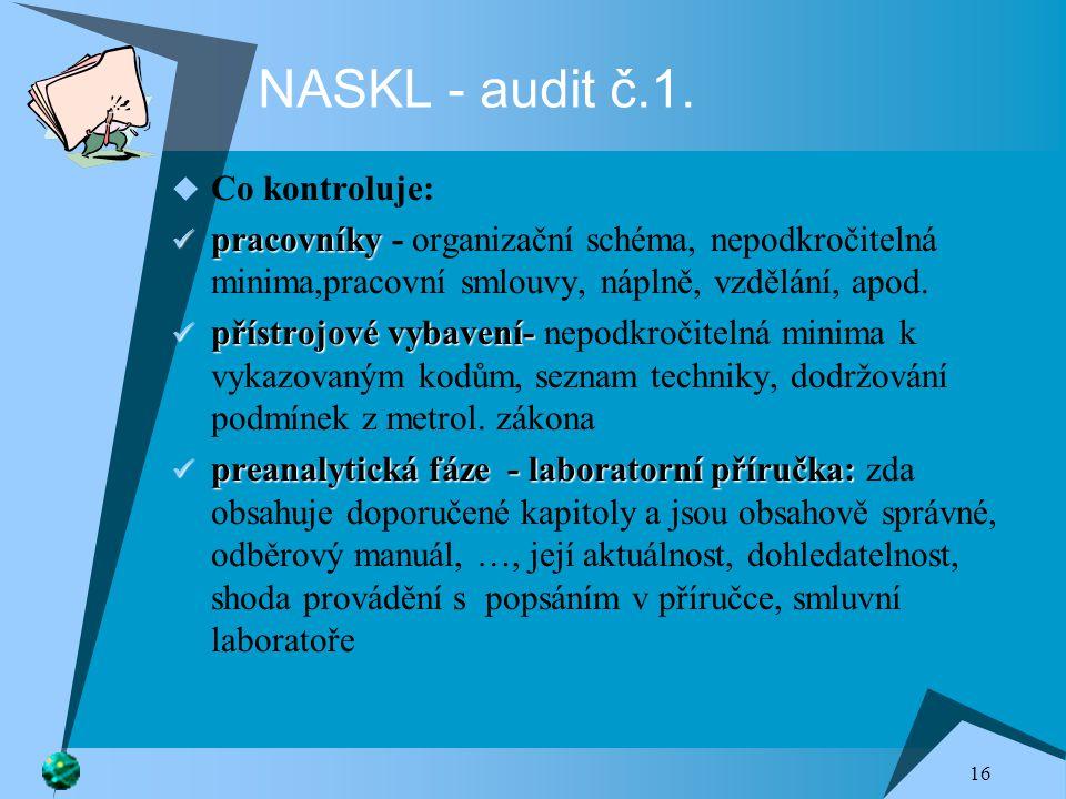 16 NASKL - audit č.1.