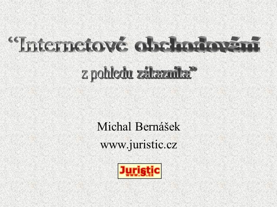 Michal Bernášek www.juristic.cz