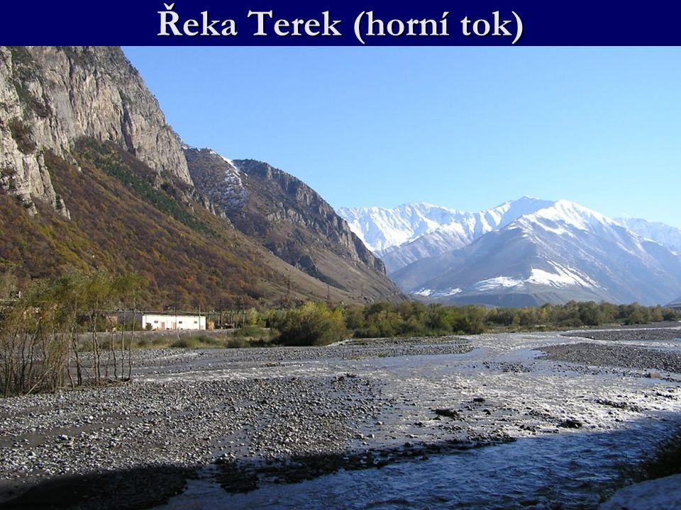 Řeka Terek (horní tok)