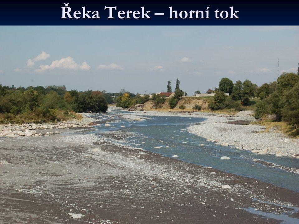 Řeka Terek – horní tok