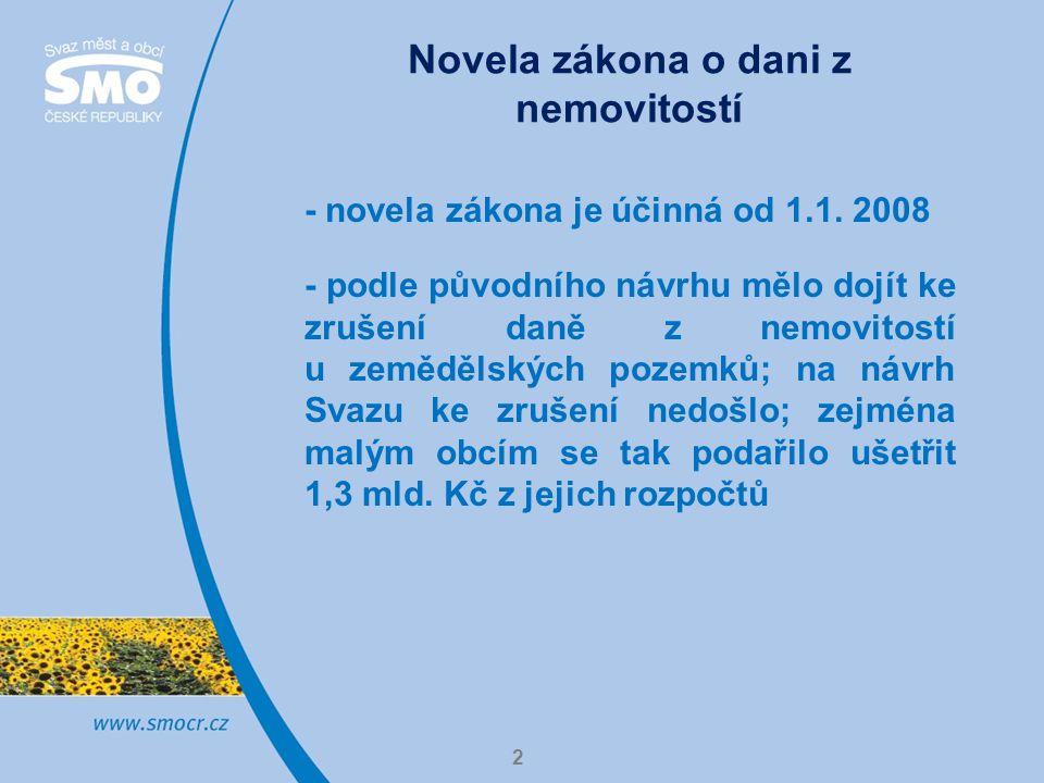 2 - novela zákona je účinná od 1.1.