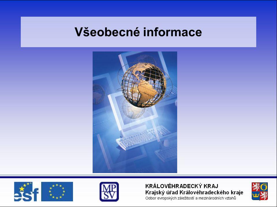 4.Publicita a propagace projektu  Společně s logem ESF se vždy používá vlajka EU.