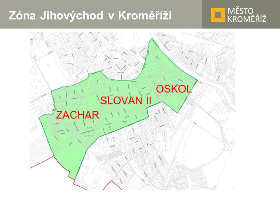 Zóna Jihovýchod v Kroměříži