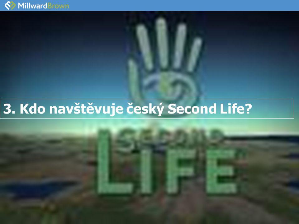 3. Kdo navštěvuje český Second Life