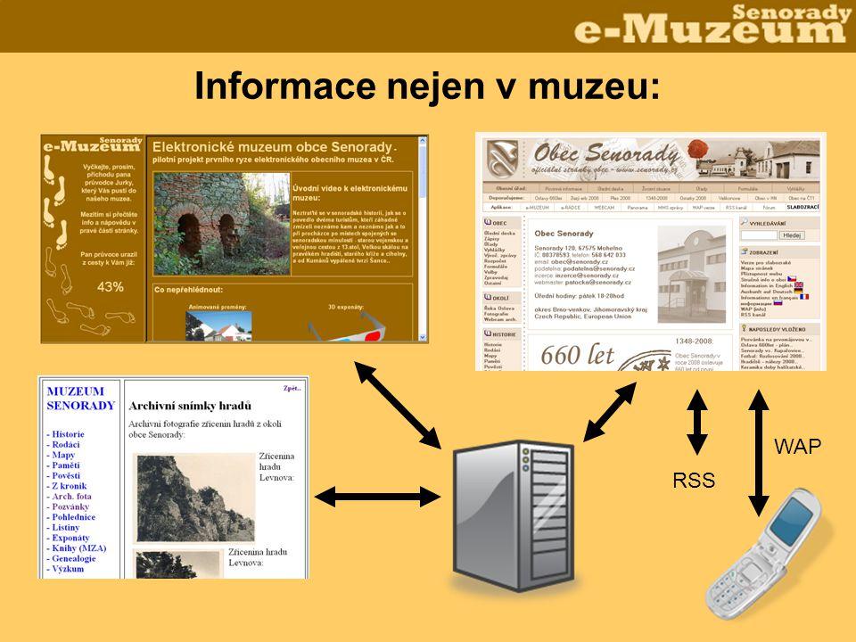 Informace nejen v muzeu: RSS WAP
