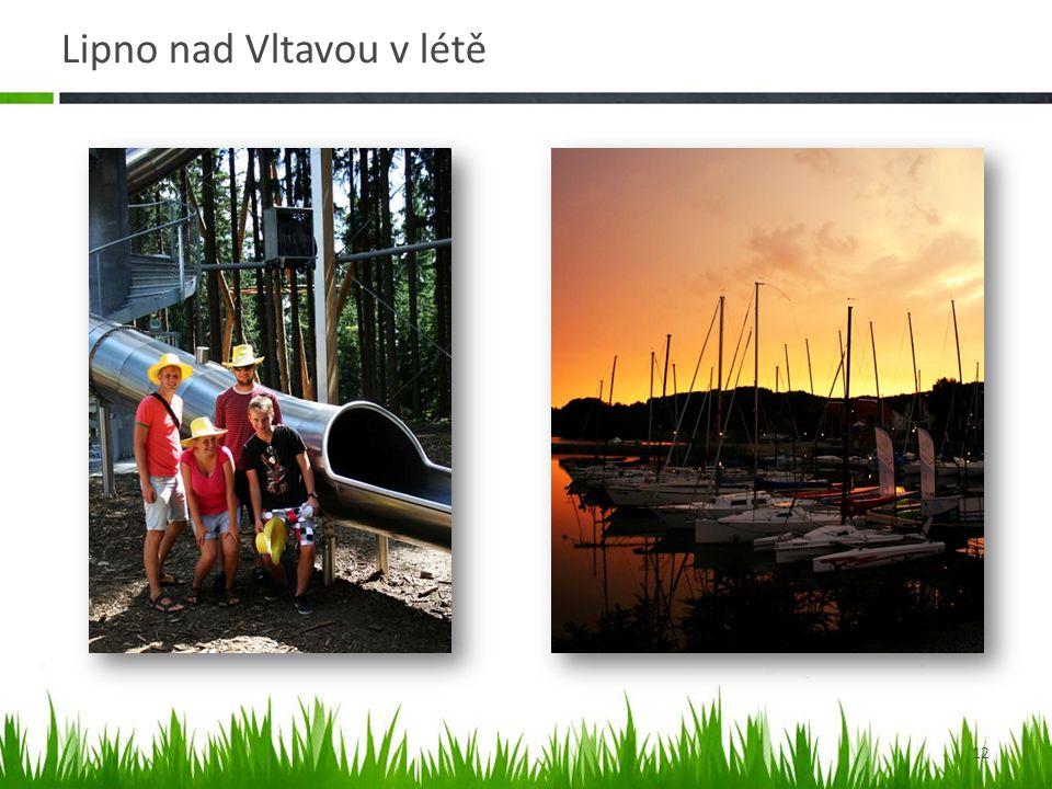 Lipno nad Vltavou v létě 12