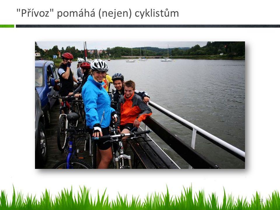 Přívoz pomáhá (nejen) cyklistům 13