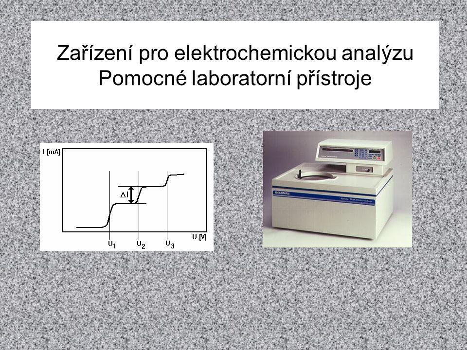 Modifikace polarografie Citlivost polarografie se podařilo zvýšit pomocí několika modifikací (detekční limit leží v oblasti desítek až stovek nM).