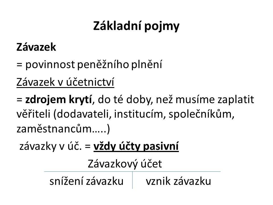 Závazky a pohledávky v cizí měně • zákon o účetnictví ukládá povinnost uvádět je jak v cizí tak i v české měně, pro přepočet používá ÚJ denní kurz ČNB nebo pevný kurz (který si volí ÚJ sama na max.