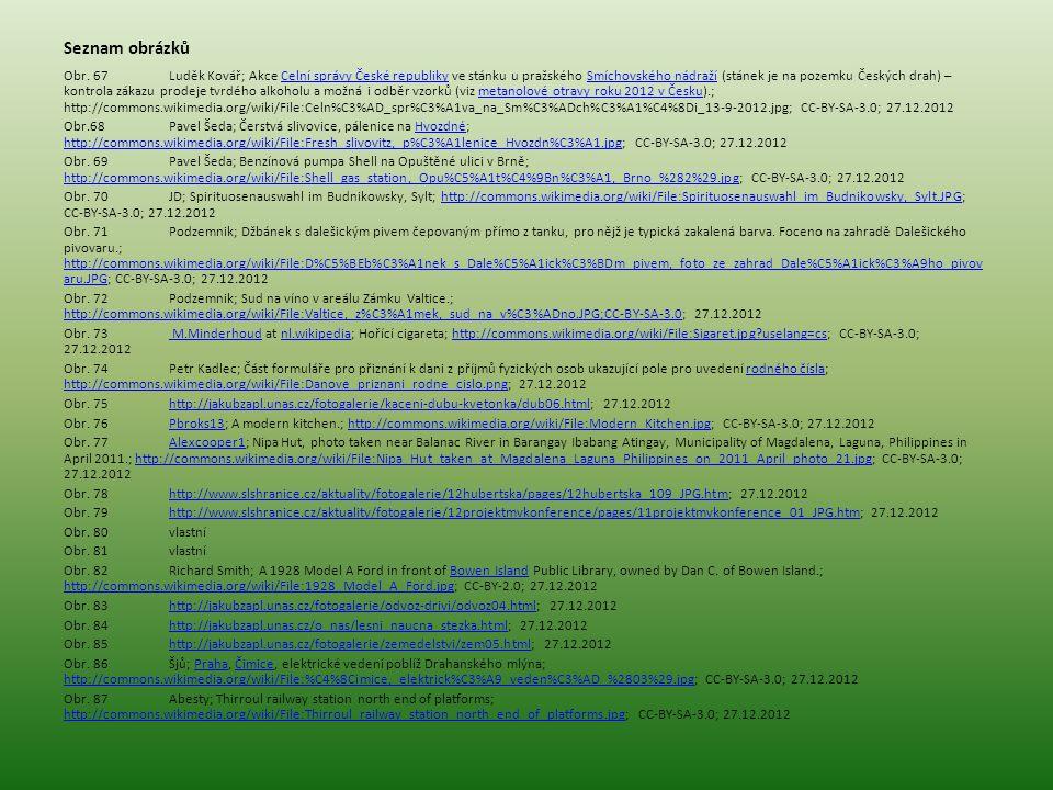 Seznam obrázků Obr. 67Luděk Kovář; Akce Celní správy České republiky ve stánku u pražského Smíchovského nádraží (stánek je na pozemku Českých drah) –
