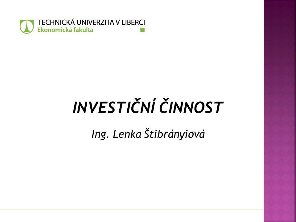 Ing. Lenka Štibrányiová