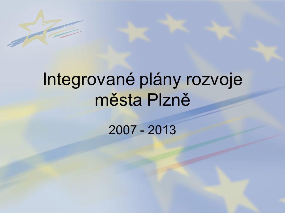 Integrované plány rozvoje města Plzně 2007 - 2013