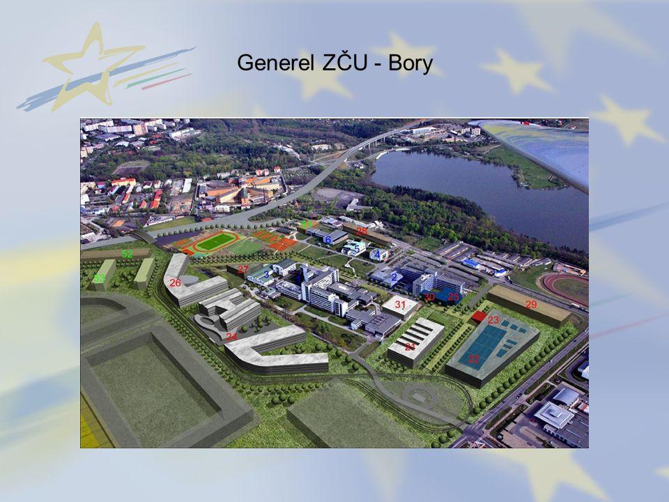 Generel ZČU - Bory