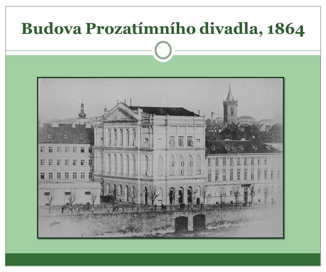 Budova Prozatímního divadla, 1864