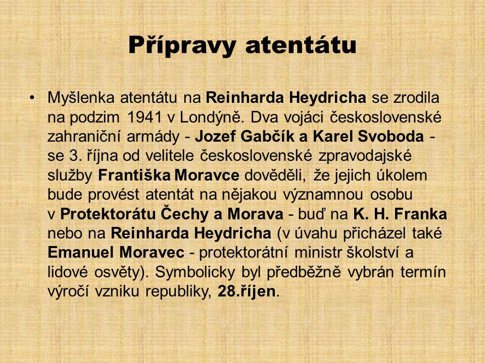 Heydrichiáda •Odvetou za atentát na R.