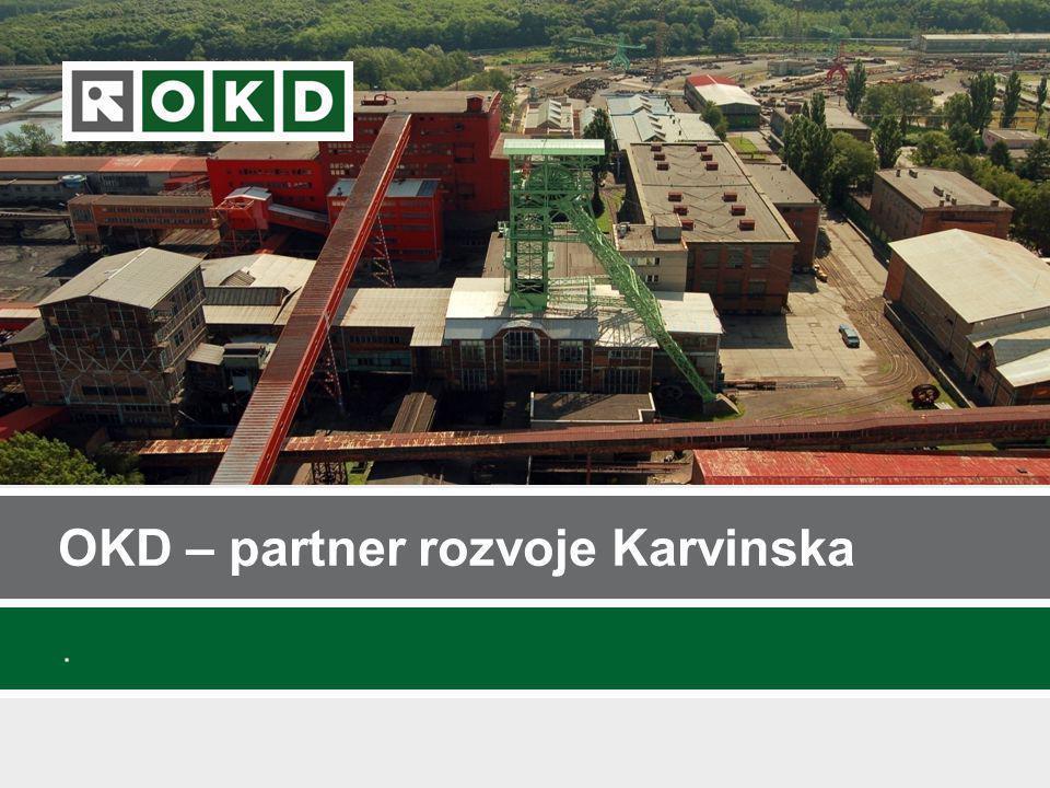 Záměry OKD v lokalitě Karviná-Staré Město 2