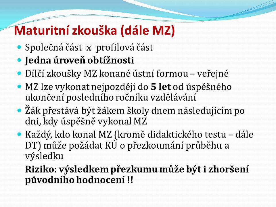  Struktura PL: - 1.interview na 1 všeobecné téma, 3 -5 otázek 2.samostatný ústní projev na 1 všeobecné téma s využitím obrázků (popis, porovnání 2 obrázků, samostatný projev ve vztahu k tématu) 3.školní úloha: ústní projev na 1 odborné téma, nejvýše 2 úkoly - 4.interakce na 1 všeobecné téma – rozhovor