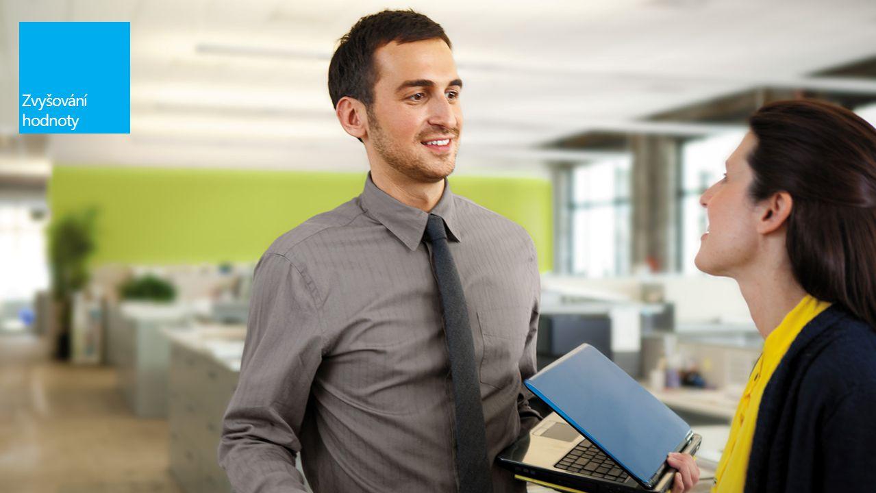 Správce IT Obchodník Uživatelé Bity a bajty Hodnota pro organizaci Jednoduché výrazy a koncepty