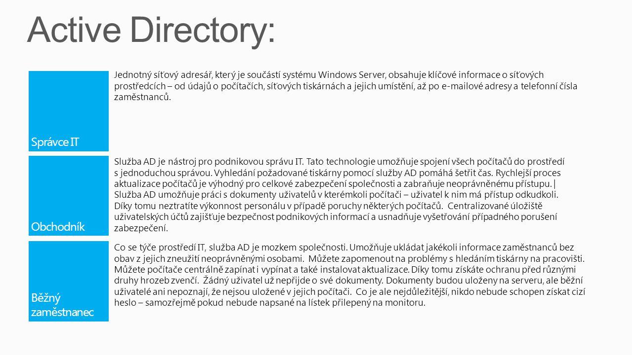 Služba Vzdálená plocha umožňuje efektivní nasazování a podporu softwaru v podnikovém prostředí.