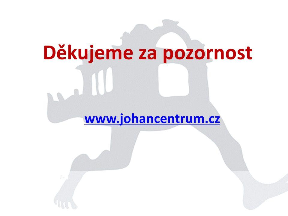 Děkujeme za pozornost www.johancentrum.cz