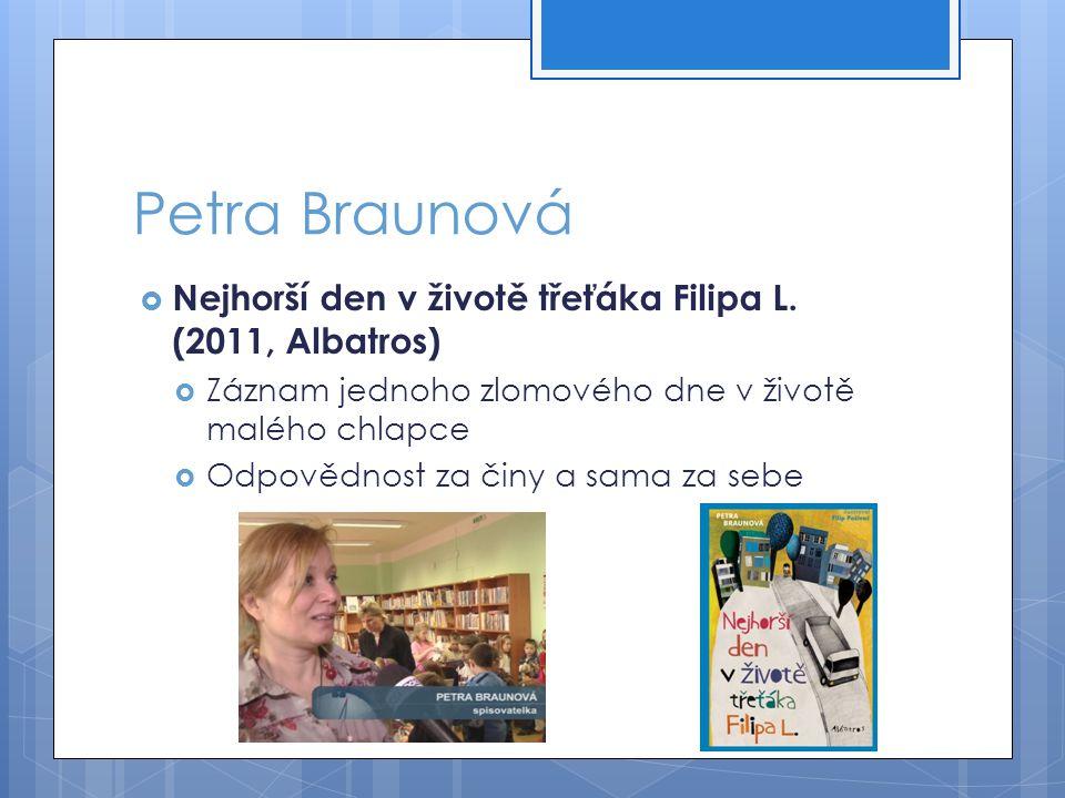 Micheala Fišarová  Nikolina cesta (Albatros, 2012; ZS 2013)  Neúplná rodina  Otčím, domácí násilí