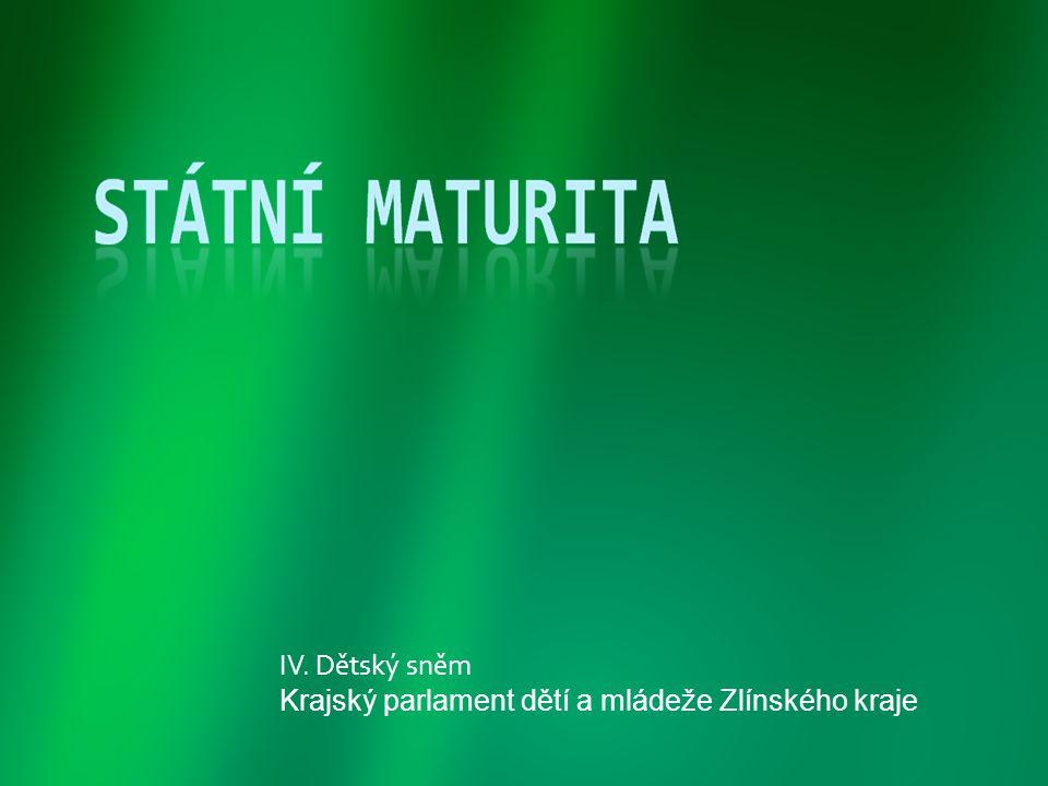 IV. Dětský sněm Krajský parlament dětí a mládeže Zlínského kraje