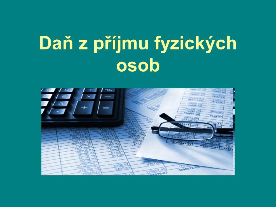 Daň z příjmu fyzických osob