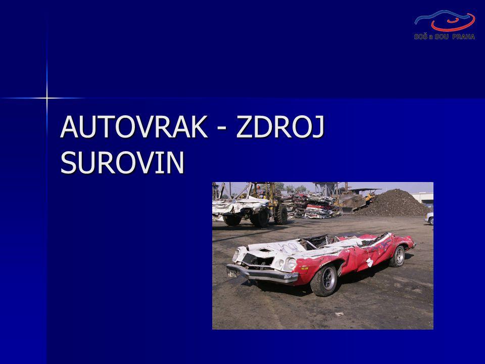 AUTOVRAK - ZDROJ SUROVIN