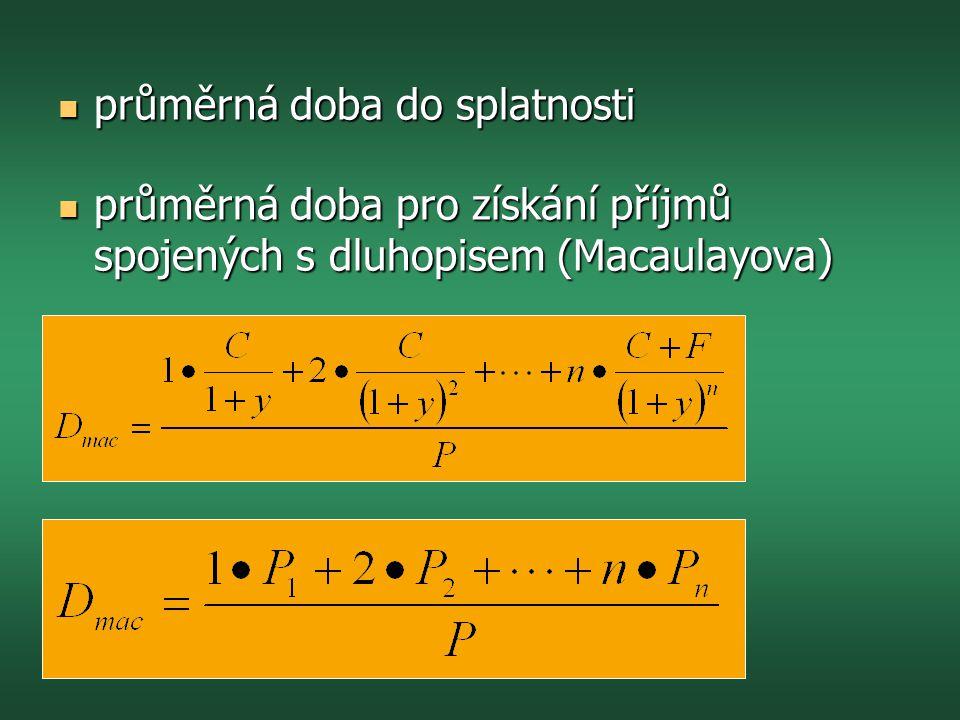  Př: Jsou dány kovariance σ 12 = -3, σ 21 = 6 a rizika σ 1 = 5, σ 2 = 10.