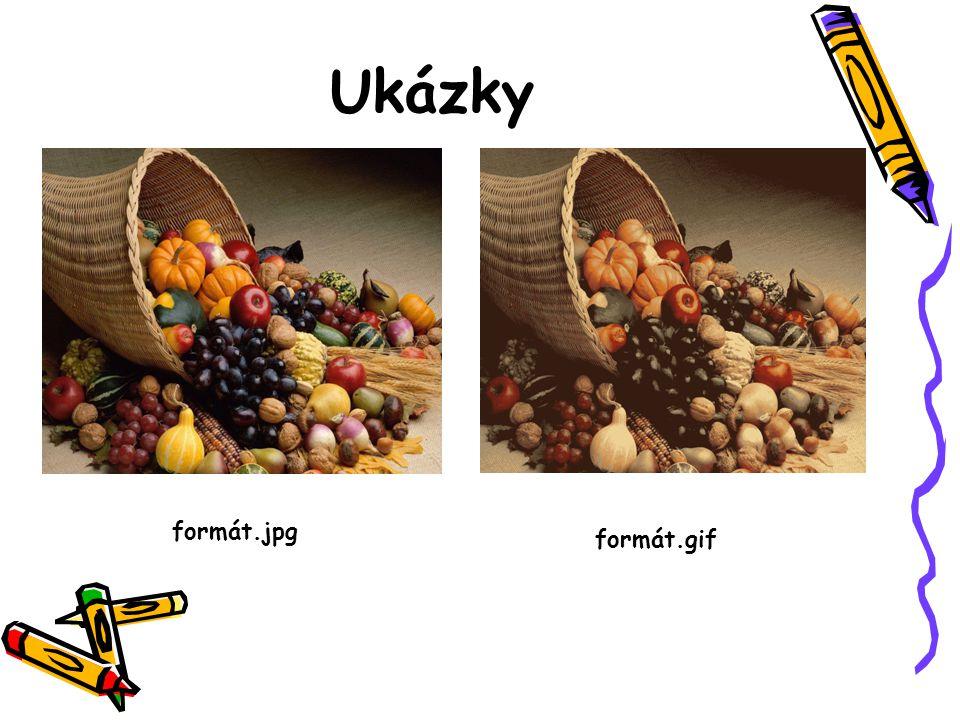 Ukázky formát.gif formát.jpg