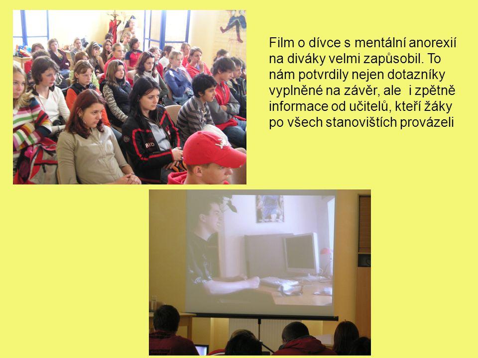 Film o dívce s mentální anorexií na diváky velmi zapůsobil.