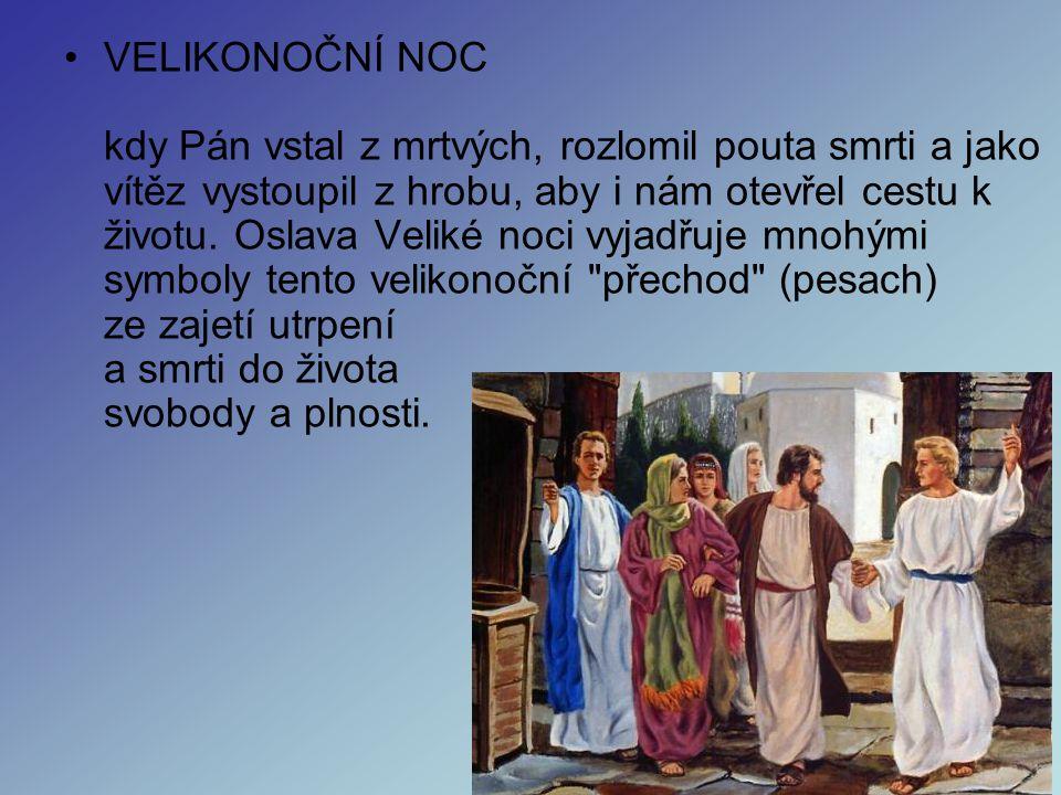 •BÍLÁ SOBOTA Bílá sobota je příležitostí prožít u Kristova hrobu skutečnost smrti, beznaděje a prázdnoty. Tedy všeho toho, v čem bychom byli díky hříc
