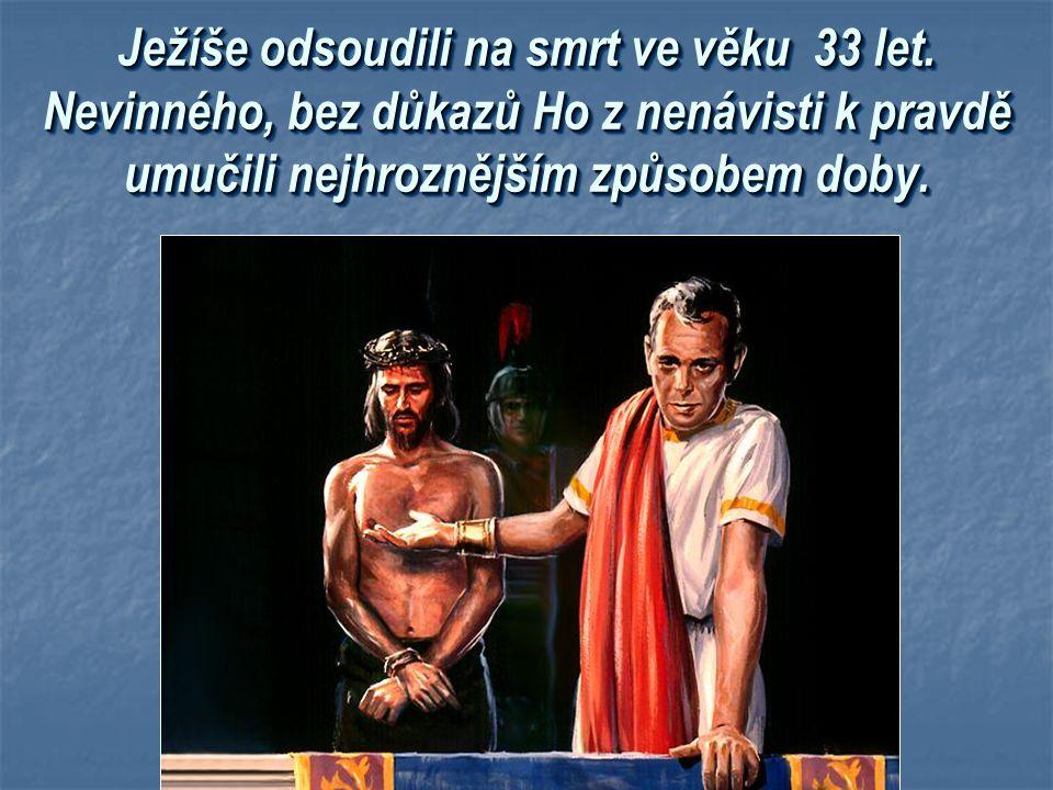 Ježíšův dar lidstvu Ježíšův dar lidstvu