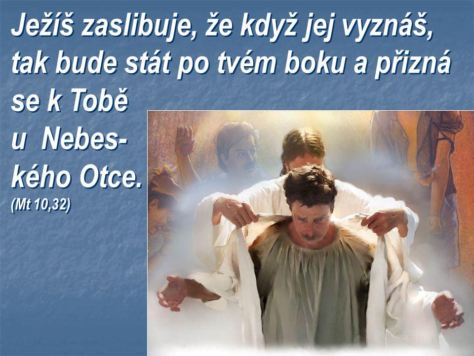Křížem to tenkrát neskončilo. On vstal. Odešel nám připravit místo a vrátí se pro nás. Těšíš se? Jsi na to připraven? Požádal jsi Jej, aby Jeho krev s