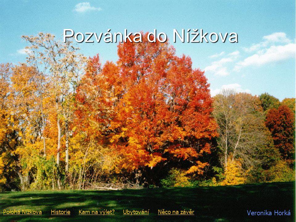 Poloha Nížkova Úvod Nížkov se nachází v kraji Vysočina, okres Žďár nad Sázavou.