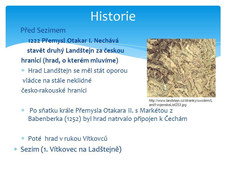  Před Sezimem  1222 Přemysl Otakar I.