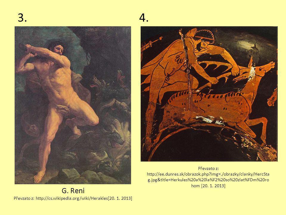 ŘEŠENÍ 1.Héraklés v kolébce zardousil hady.2.Boj s nemejským lvem.