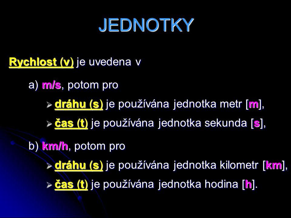 1) Z Bratislavy vyjel v 9 h motocyklista rychlostí 54 km/h.