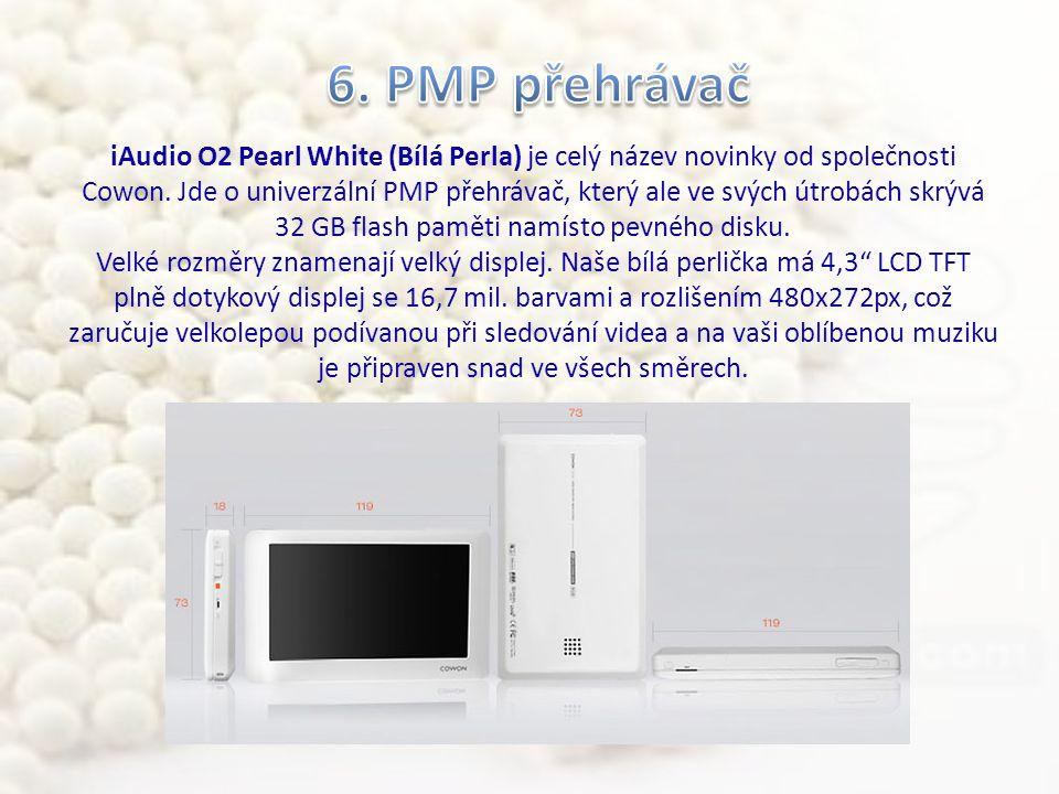 iAudio O2 Pearl White (Bílá Perla) je celý název novinky od společnosti Cowon.