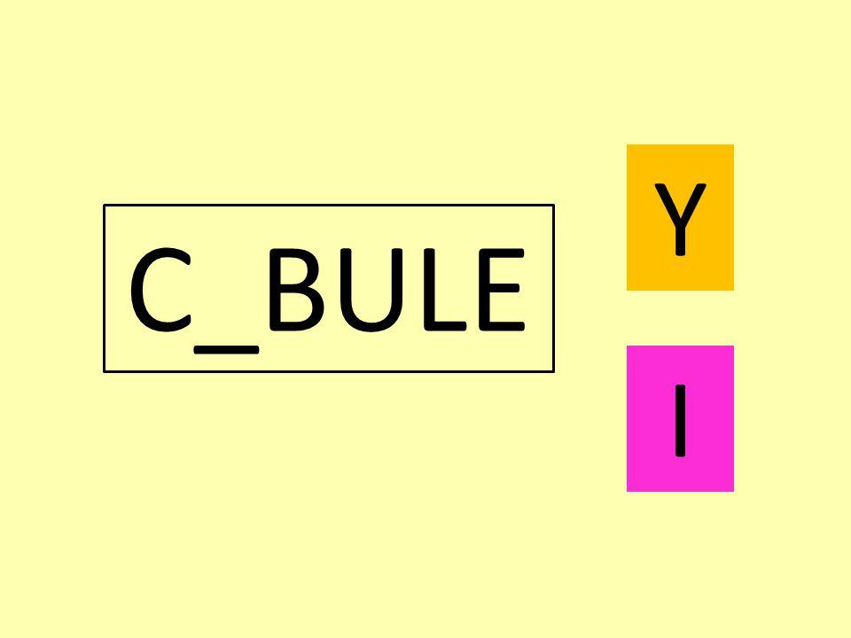 C_BULE Y I