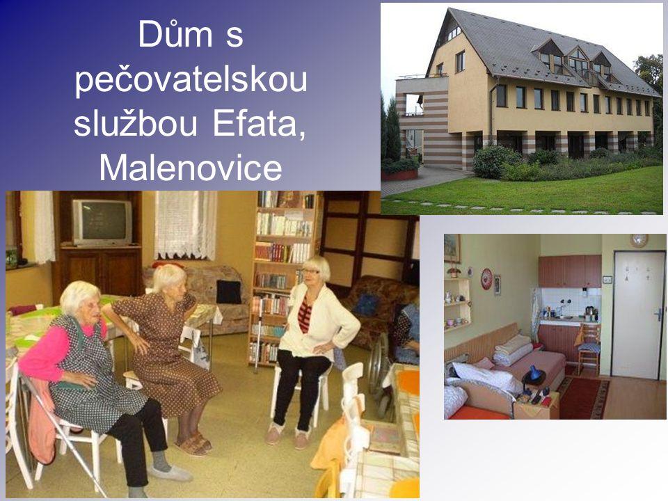 Dům s pečovatelskou službou Efata, Malenovice