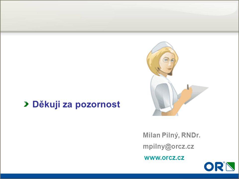 Děkuji za pozornost Milan Pilný, RNDr. mpilny@orcz.cz www.orcz.cz