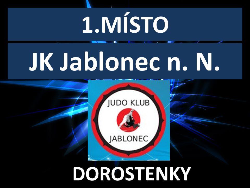 DOROSTENECKÝ KLUB ROKU 1.MÍSTO DOROSTENKY JK Jablonec n. N.