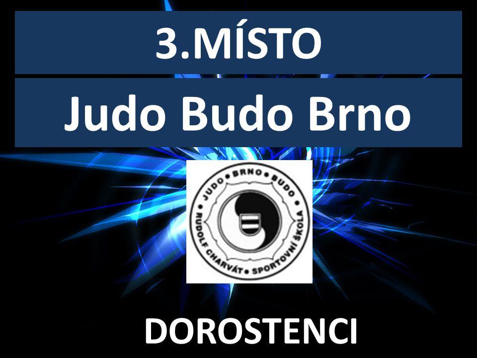 DOROSTENECKÝ KLUB ROKU 3.MÍSTO DOROSTENCI Judo Budo Brno