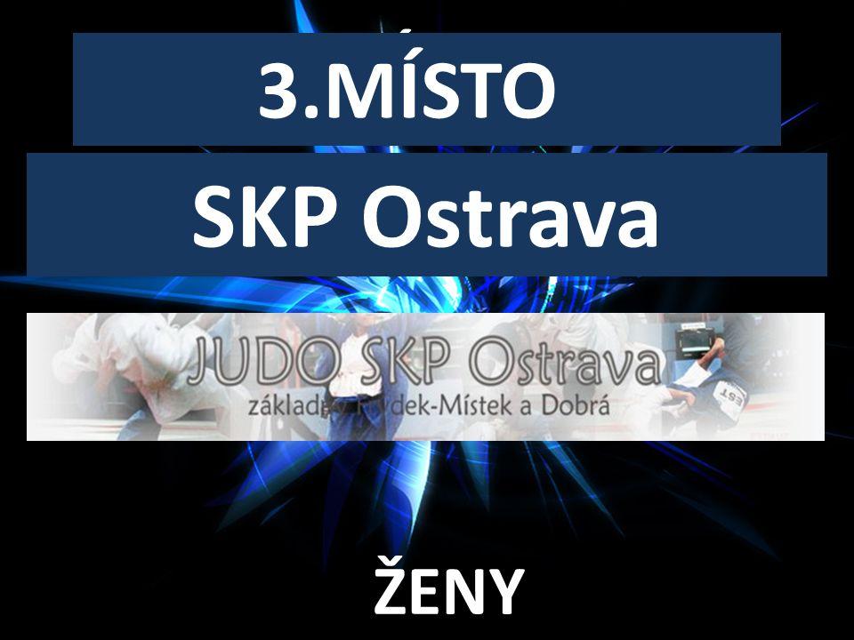 3.MÍSTO ŽENY SKP Ostrava